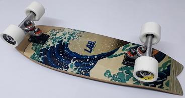 SURF SKATE 70MM LISTA