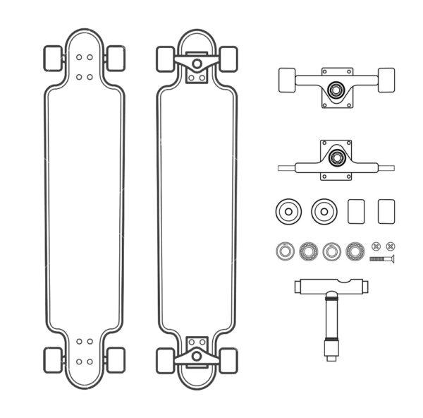 arma longboard